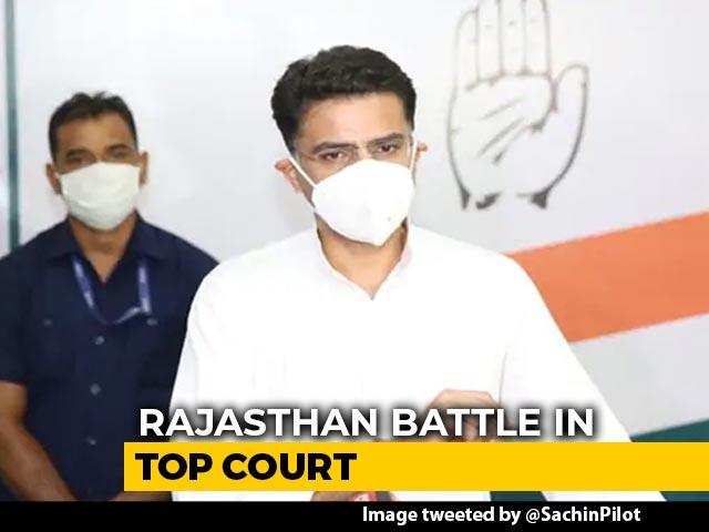 Video : In Sachin Pilot vs Ashok Gehlot, Crucial Day In Supreme Court