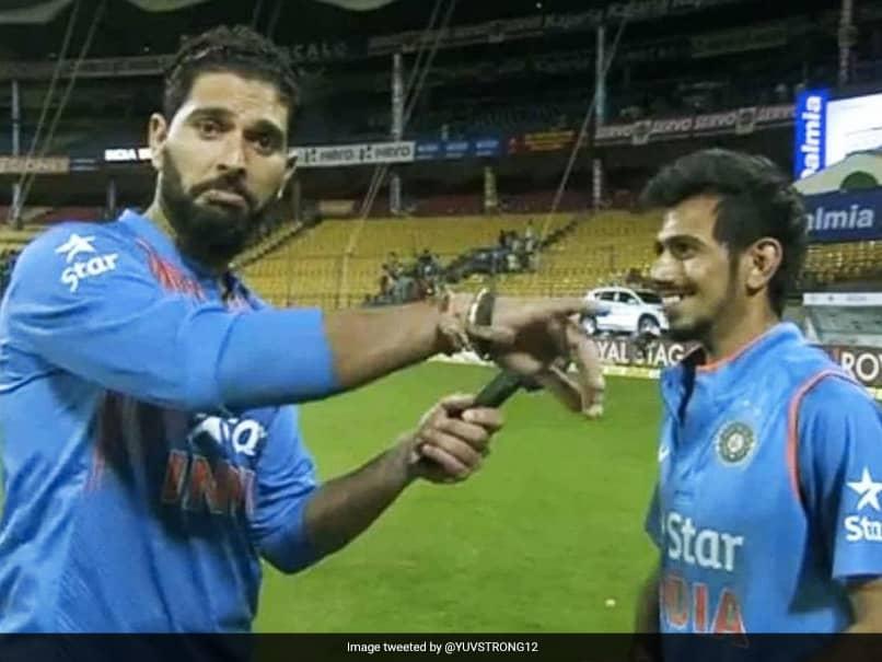 """Gain Some Weight"": Yuvraj Singhs Birthday Wish For Yuzvendra Chahal Leaves Fans In Splits"