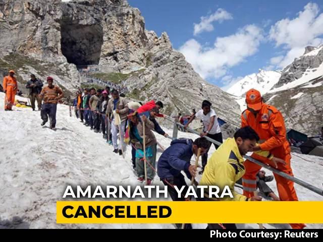 Video : Amarnath Yatra Cancelled This Year Amid Coronavirus Crisis