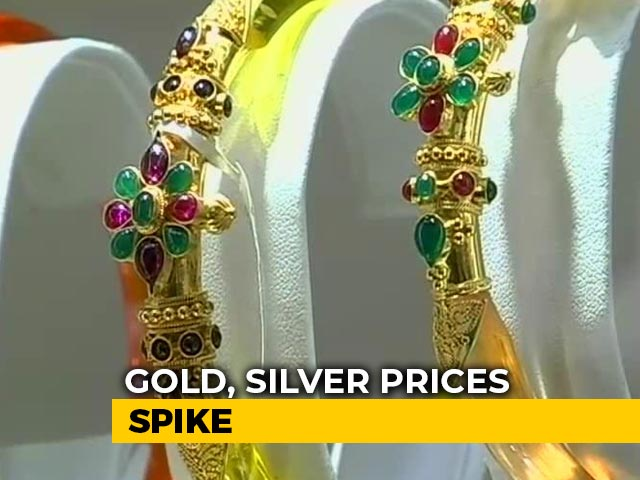 Video : Gold Futures Cross Rs 50,000 On Multi Commodity Exchange For First Time