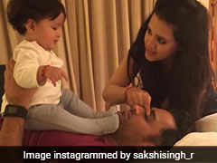 MS Dhoni's Wife Sakshi Posts Adorable Message On 10th Marriage Anniversary