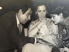 A Pic Of Dilip Kumar And Saira Banu From Padmini Kolhapure's Throwback <I>Khazana</i>