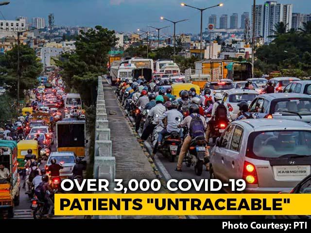 "Video : Over 3,000 COVID-19 Patients ""Untraceable"" In Bengaluru Amid Huge Spike"