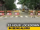 "Video : ""Heavens Won't Fall"": Bengaluru Police Chief On 33-Hour Lockdown"