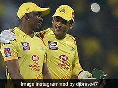"Watch: Dwayne Bravo Pays Birthday Tribute To MS Dhoni With ""Helicopter Song"""