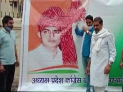 Amid Congress's Rajasthan Crisis, Sachin Pilot Posters Torn Then Replaced
