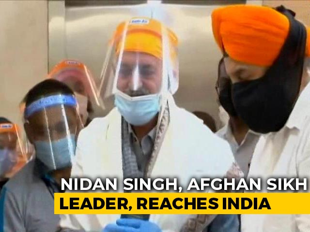 Video : 11 Afghan Sikhs Kidnapped From Gurdwara In June Reach Delhi