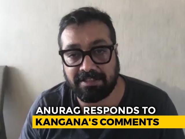 Anurag Kashyap: Kangana Ranaut Is Upset With Me Because Of An Old Interview