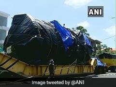 78 टन की मशीन लेकर 1 साल में महाराष्ट्र से विक्रम साराभाई स्पेस सेंटर पहुंचा 38 पहियों वाला ट्रक