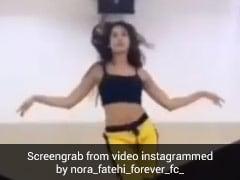 नोरा फतेही ने Belly Dance ने फिर चलाया जादू, सोशल मीडिया पर धमाल मचा रहा है एक्ट्रेस का Video