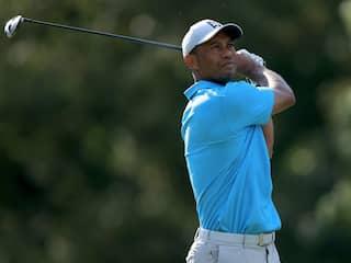 Rusty Tiger Woods Five Shots Adrift As Tony Finau Leads Memorial
