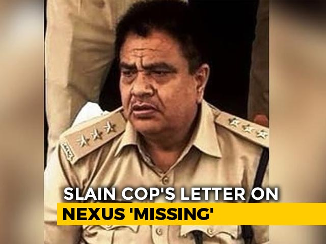"""Video : Damning Letter Of Cop Killed In UP Raid Emerges; Police Say """"No Records"""""""
