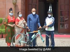 President Gifts Bicycle To Student Who Washes Dishes After School For A Living