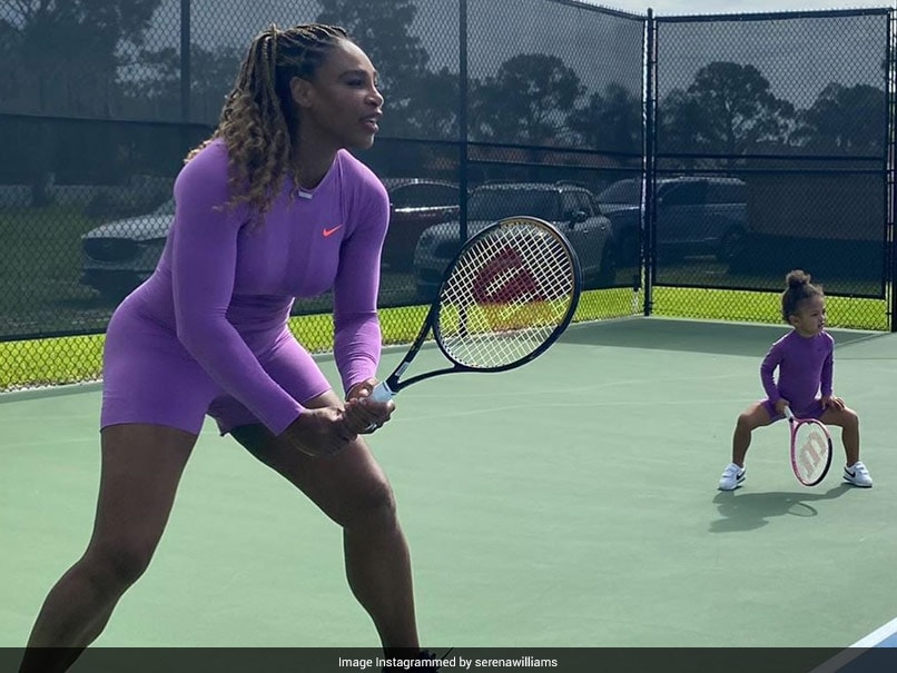 Serena Williams and Olympia like tennis superheroine!