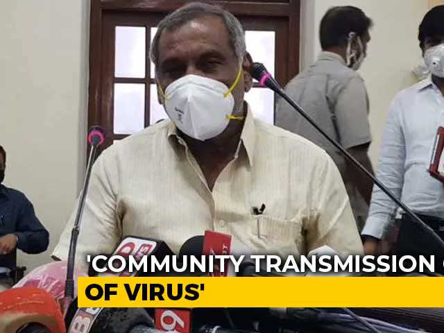 Video: 'Worried That COVID-19 Spreading At Community Level': Karnataka Minister