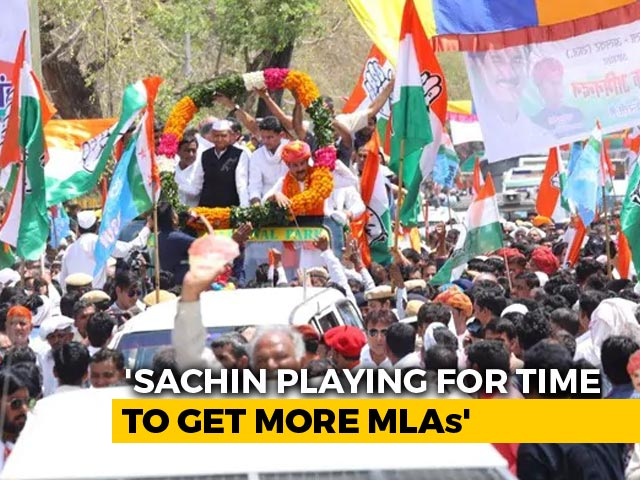 Video : Too Far, Says Congress, As Sachin Pilot Goes To Court