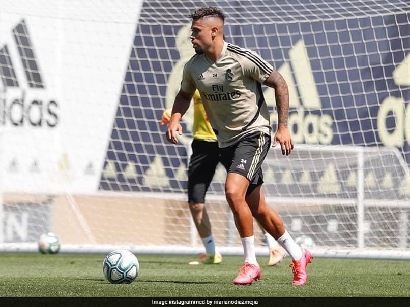 Real Madrid Striker Mariano Diaz Tests Positive For Coronavirus