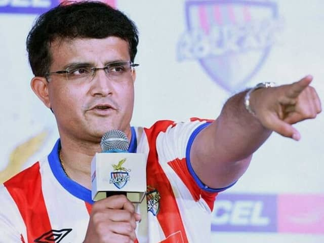 Sourav Ganguly, BCCI President, Named One Of ATK-Mohun Bagan Directors