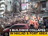 Video : Two Building Collapses In Mumbai After Heavy Rain, People Feared Trapped