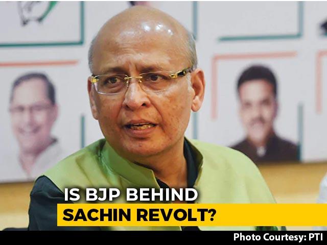 "Video : ""We Had A Good Laugh"": Abhishek Singhvi On Sachin Pilot's Phone Call"