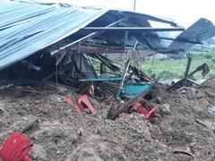 Landslides Triggered By Heavy Rain Destroy Key Road Links In Arunachal