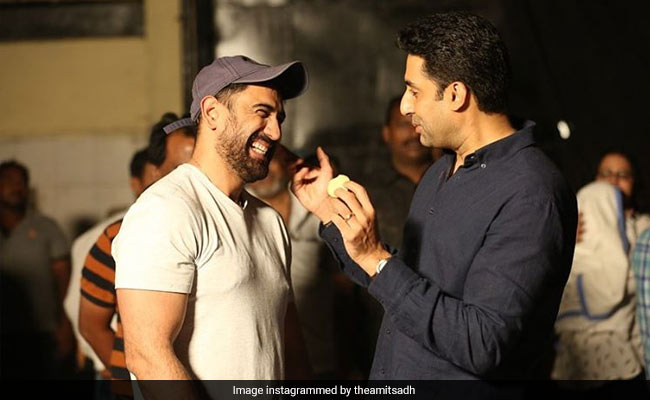Here's How Abhishek Bachchan Reacted To Breathe: Into The Shadows Co-Star Amit Sadh's Post For Him