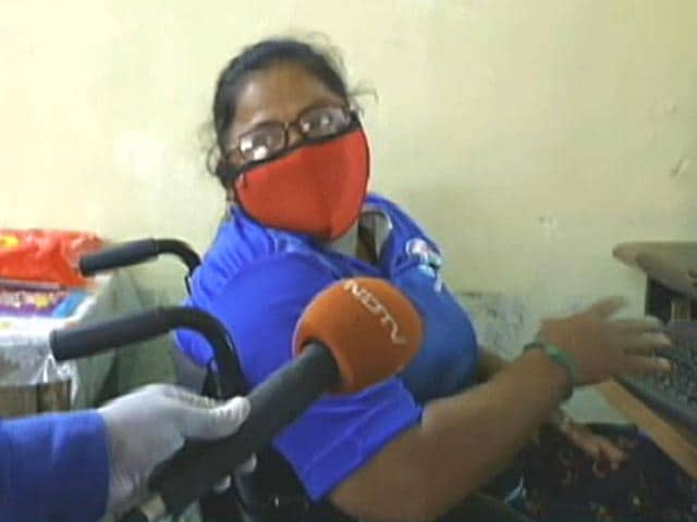 Video : Chennai's Differently Abled Women In Non-Medical Frontline