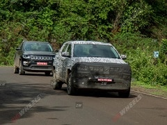 2021 Jeep Compass Facelift With Camouflage Spotted Testing Again In India