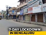 Video : Bengaluru Is Lockdown City Once Again
