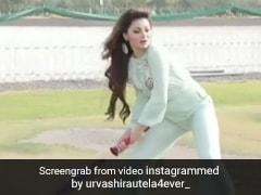 उर्वशी रौतेला ने शानदार अंदाज में खेला क्रिकेट, शॉट पर शॉट लगाती नजर आईं एक्ट्रेस- देखें Video