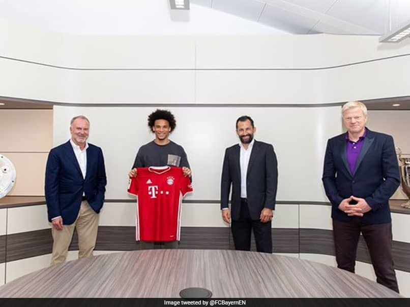 Bayern Munich Confirm Signing Of Leroy Sane From Manchester City