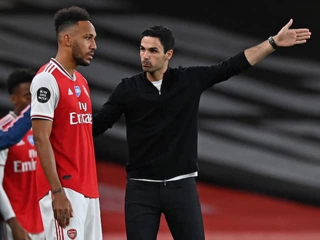 Mikel Arteta Hopes FA Cup Win Convinces Pierre-Emerick Aubameyang To Stay At Arsenal