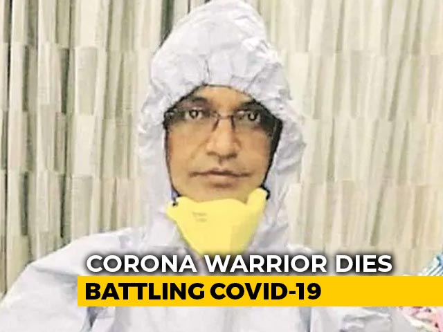 Video : Delhi Doctor, 42, Dies Of Coronavirus; Had Been On Frontline Since March