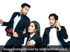 Katrina, Ishaan, Siddhant Make Pantsuits Look Way Cooler In <i>Phone Bhoot</i>