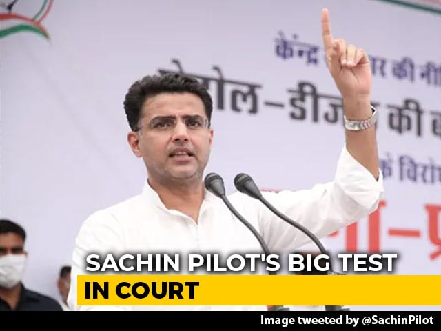 Video : Sachin Pilot's Big Test In Rajasthan High Court Today