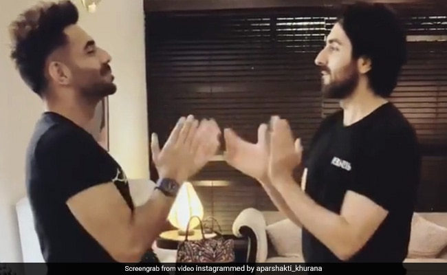 Ayushmann Khurrana Plays Childhood Game 'Aao Milo' With Brother Aparshakti. See Their Hilarious Video