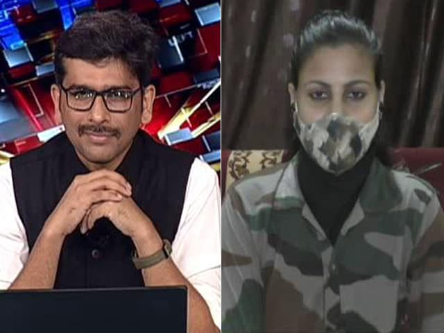 Video : Internet Sensation For Doing Her Duty, Constable Sunita Yadav Speaks To NDTV