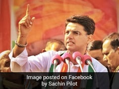 Pay Re 1 With Apology In A Week, Says Sachin Pilot To MLA Who Alleged Bribe