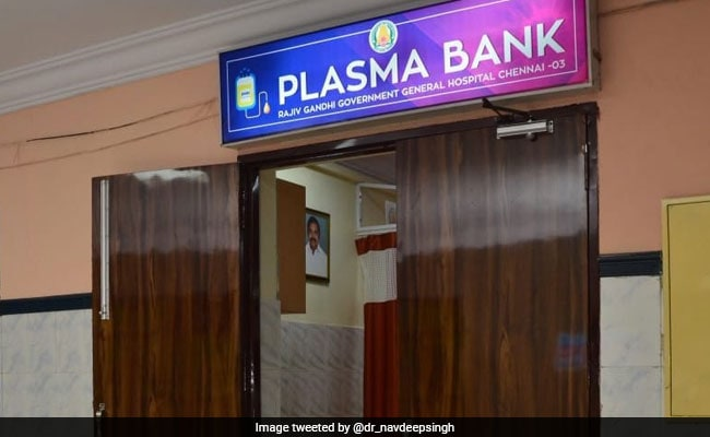India's Second National-Level Plasma Bank Opened In Tamil Nadu