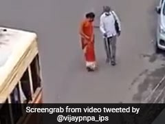Kerala Woman Runs After Bus To Help Visually Impaired Man Board It In Viral Video