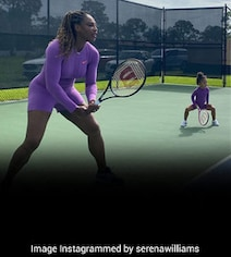 Serena Williams And Her New 'Doubles Partner' Take Social Media By Storm