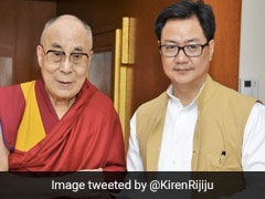Union Minister Kiren Rijiju Greets Dalai Lama On Birthday