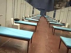 दिल्ली में कॉमनवेल्थ गेम्स स्टेडियम को 600 बेड के कोविड केयर सेंटर में तब्दील किया गया