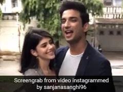 जब सुशांत सिंह राजपूत शूटिंग के बीच संजना सांघी संग करने लगते थे डांस, एक्ट्रेस ने शेयर किया BTS Video