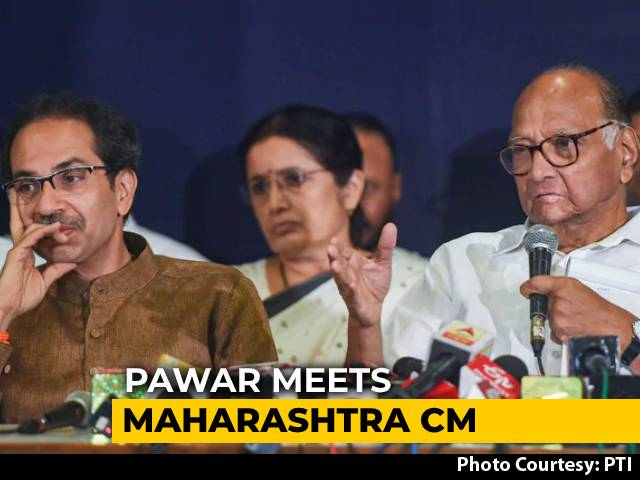 Video : Sharad Pawar, Uddhav Thackeray Meet Again, Talk On Cop Transfers: Sources