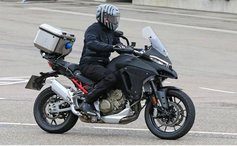 2021 Ducati Multistrada V4 Latest Spy Shots