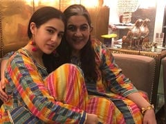 Sara Ali Khan, Twinning With Mom Amrita Singh, Shares Happy Pics From Their Day Out