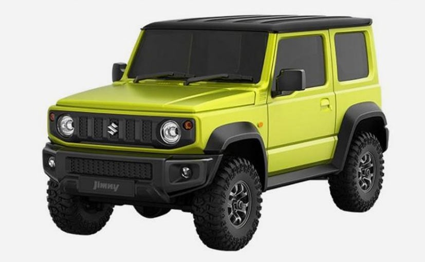 The Xiaomi Suzuki Jimny scale model uses a G-sensor for steering input via a smartphone