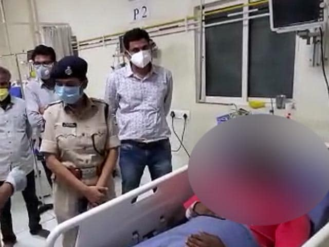 Video : Dalit Man Beaten, Head Shaved Allegedly By Andhra Cops On MLA's Prodding