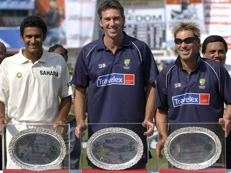 """Anil Kumble Puzzled By Comparisons With """"Really Different"""" Shane Warne"""